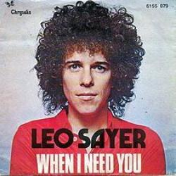 When I Need You - Leo Sayer