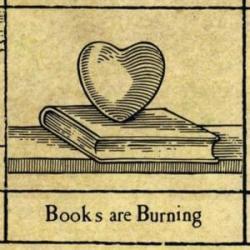 Imagen de la canción 'Books Are Burning'