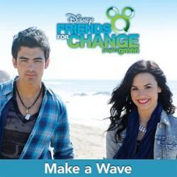 Imagen de la canción 'Make a wave'