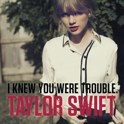 Imagen de la canción 'I knew you were trouble'