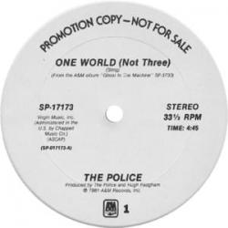 Imagen de la canción 'One world (not three)'