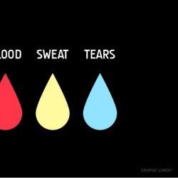 Imagen de la canción 'Blood, Sweat, Tears'