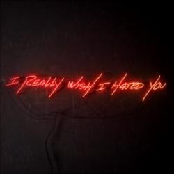 Imagen de la canción 'I Really Wish I Hated You'