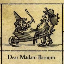 Imagen de la canción 'Dear Madam Barnum'