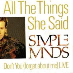 Imagen de la canción 'All The Things She Said'