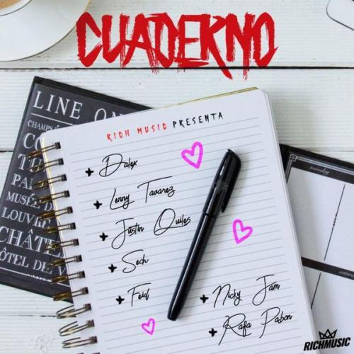 Cuaderno Letralyrics Dalex Sech Lenny Tavárez Feid