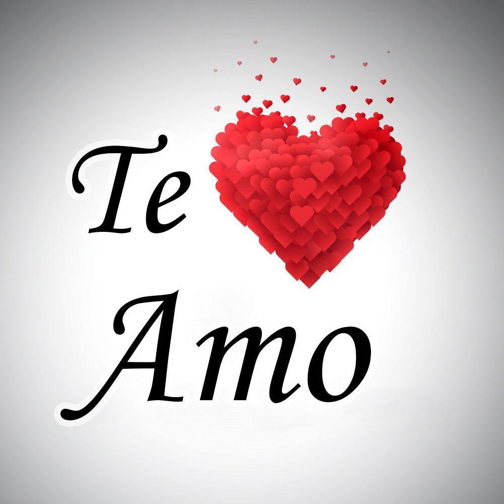 Te amo hand lettering | Te amo hand lettering — Stock