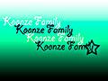 Koonze Family
