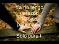 Vídeo Solo Para Ti (en español)
