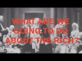 Pet Shop Boys - What Are We Going To Do About The Rich?