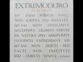 Extremoduro - Cuarto Movimiento: La realidad