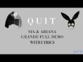 Ariana Grande - Quit (ft. Cashmere Cat)