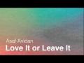 Love It Or Leave It de Asaf Avidan