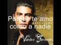 Victor Garcia - Ayer te pedi