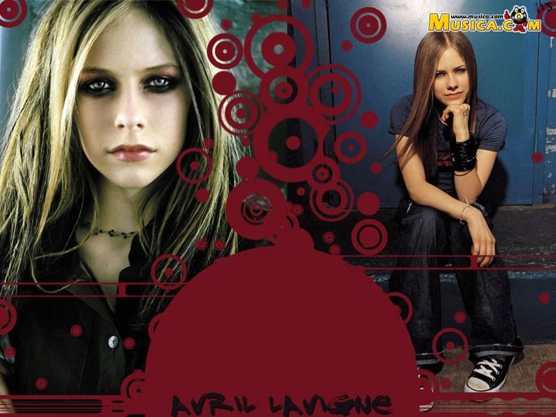 Fondo de escritorio de Avril Lavigne