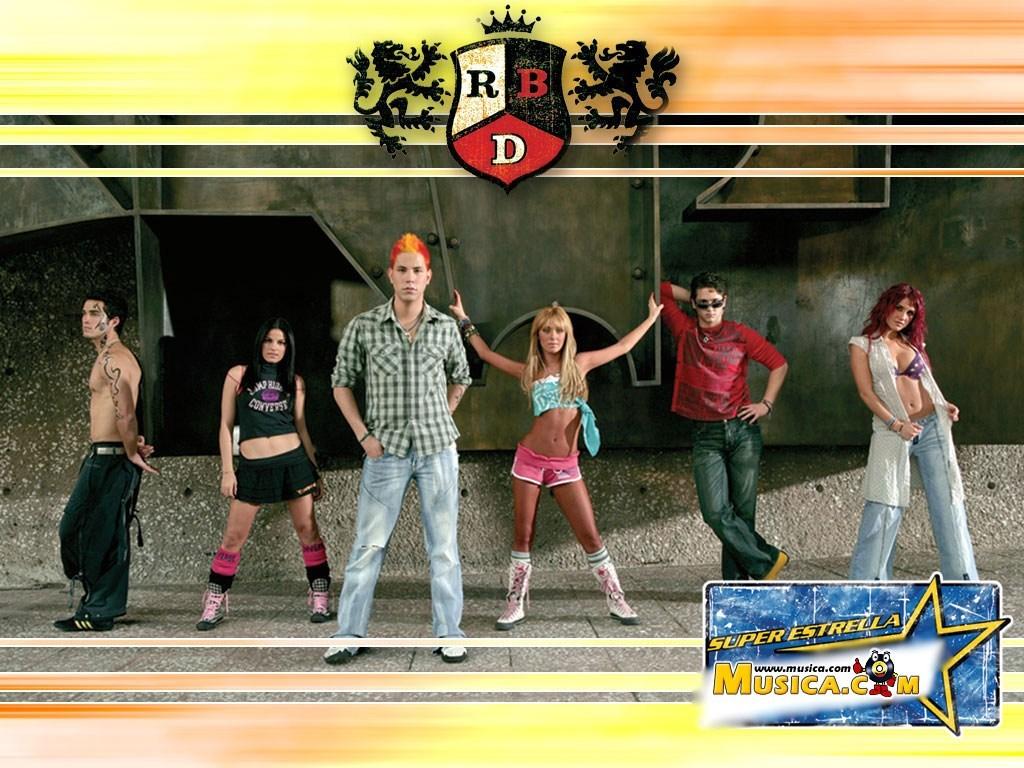 Fondo de pantalla de RBD