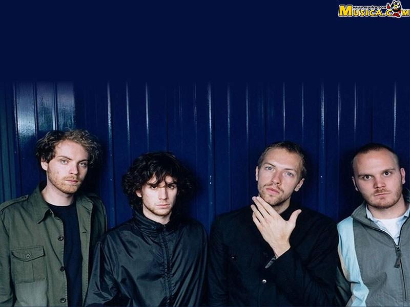Fondo de escritorio de Coldplay