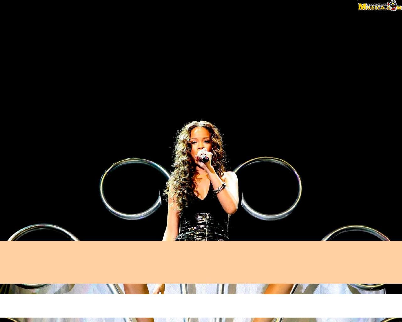 Fondo de escritorio de Rihanna