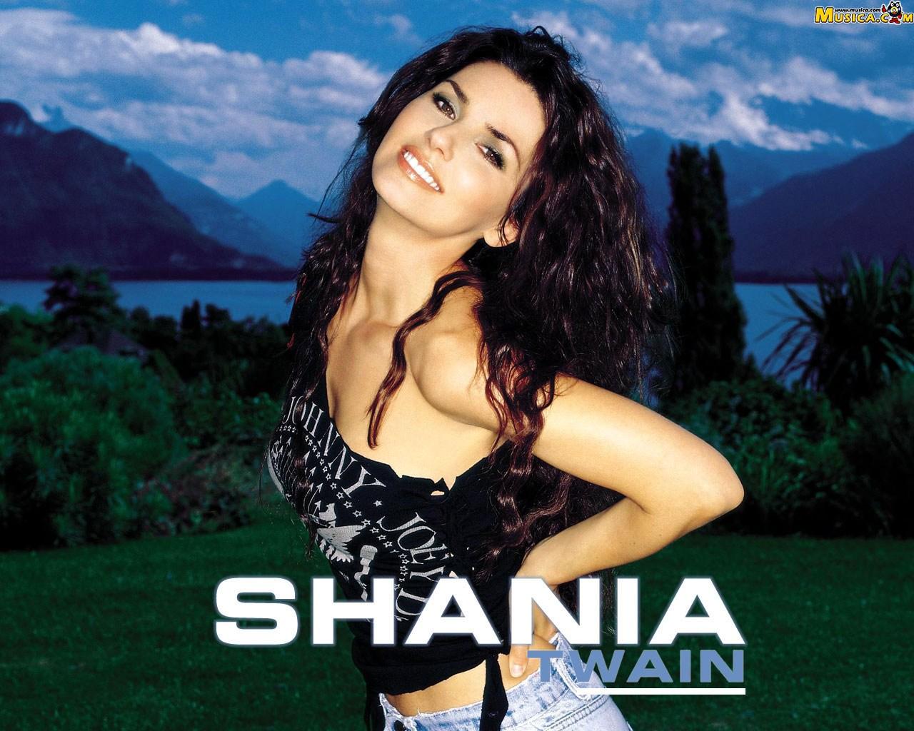 Fondo de pantalla de Shania Twain