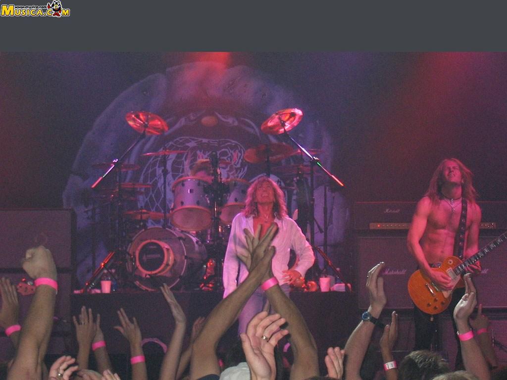 Fondo de escritorio de Whitesnake