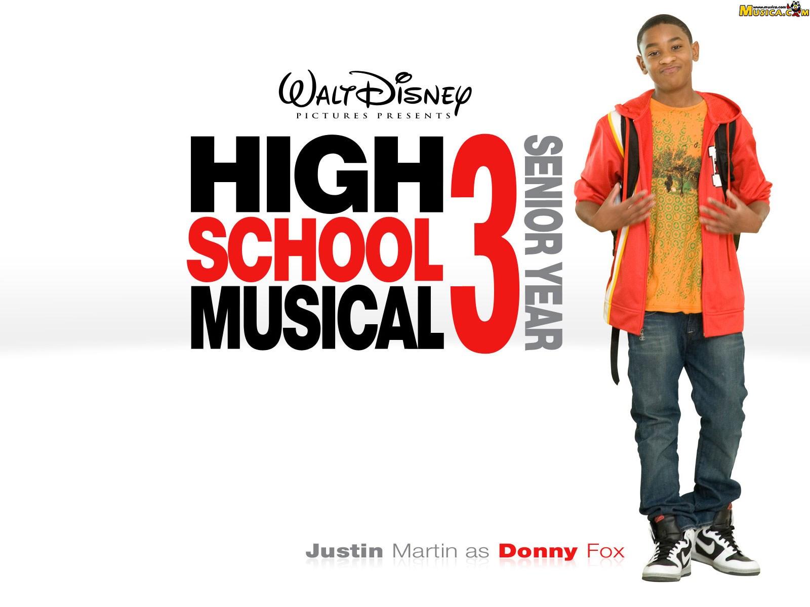 Fondo de escritorio de High School Musical 3